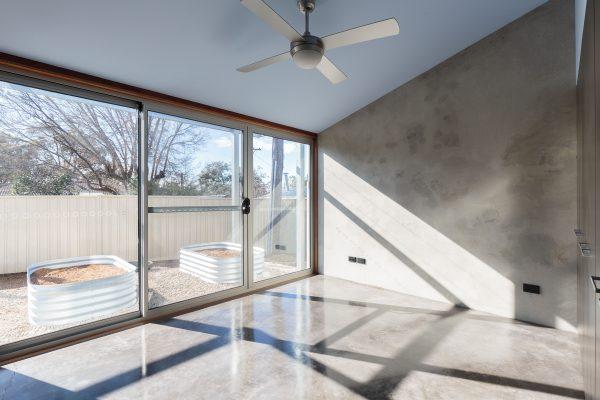 01 - Strine Design - Canberra builder - Strine Environments - Solstice House 1 - internal - prefab concrete