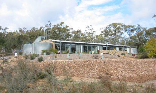 03 - Strine Design - Strine Environments - Wamboin House - Solstice House - rear view