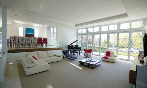 11 - Yarralumla Bay House - Sustainable house - Strine Design - livingroom