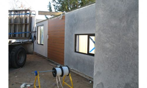 16 - Strine environments - Ecokit modular home - dickson ACT - canberra architect - canberra builder - prefab installation