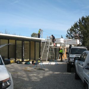 18 - Strine environments - Ecokit modular home - dickson ACT - canberra architect - canberra builder - insulation installation