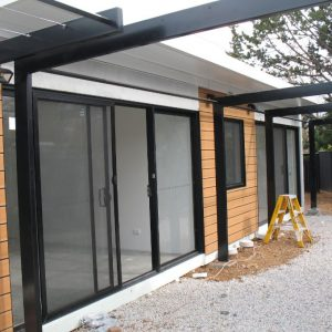 18 - Strine environments - Ecokit modular home - dickson ACT - canberra architect - canberra builder - prefab concrete modular home