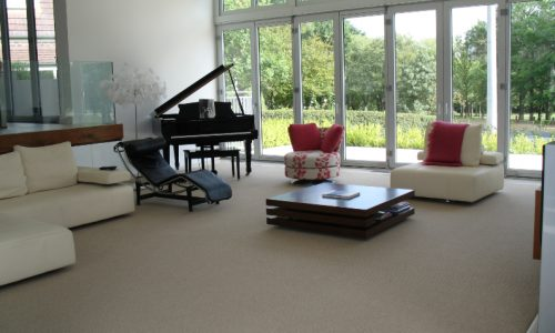 19 - Yarralumla Bay House - Sustainable house - Strine Design - grand piano