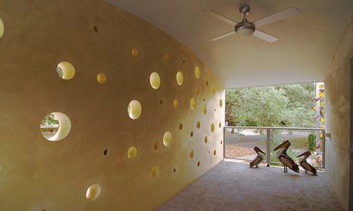 3 - Strine environments - Strine Design - Ric Butt - Caladenia Street House - moon house canberra times