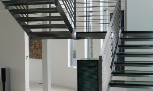 35 - Yarralumla Bay House - Sustainable house - Strine Design - stairs