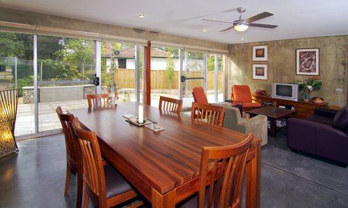 4 - Strine environments - Strine Design - Ric Butt - Caladenia Street House - Internal living area