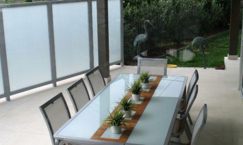 40 - Yarralumla Bay House - Sustainable house - Strine Design - outside - al fresco