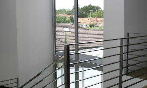 46 - Yarralumla Bay House - Sustainable house - Strine Design - stairs