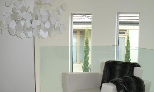 48 - Yarralumla Bay House - Sustainable house - Strine Design - reading chair