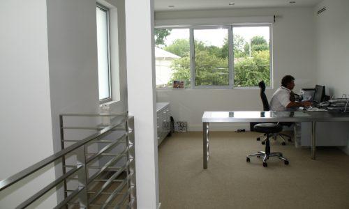 53 - Yarralumla Bay House - Sustainable house - Strine Design - office area
