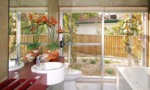 6 - Strine environments - Strine Design - Ric Butt - Caladenia Street House - bathroom