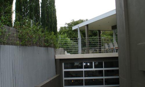62 - Yarralumla Bay House - Sustainable house - Strine Design - carport garage
