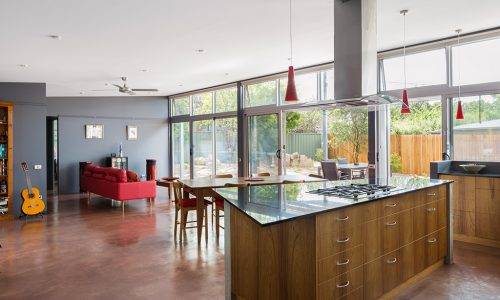 03 - Rock Wall House - Strine Design - Strine Environments - Best Canberra Builder - Green Architect Canberra - Sustainable